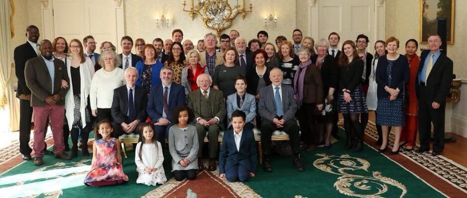 President of Ireland Áras an Uachtaráin Birth of Bahá'u'lláh